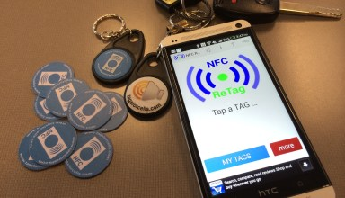 NFC ReTag Pro with NFC PVC tags