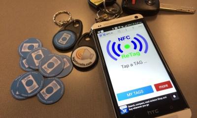 NFC ReTag Pro with NFC PVC tags