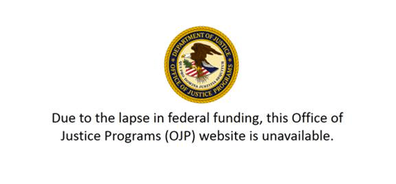 The Amber Alert website is offline thanks to the government shutdown.