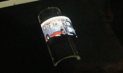 This flexible display prototype from Sharp shows what we could expect form LG and Samsung.