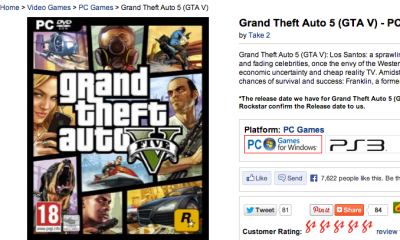 GTA 5 Pc pre-orders are live, but Rockstar has yet to confirm any PC version of the game.