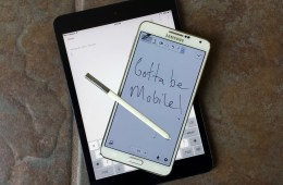 Galaxy Note 3 vs iPad mini 2-5