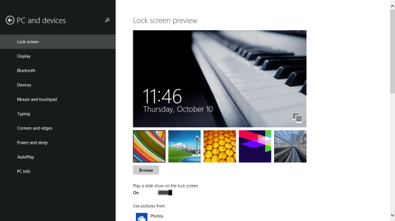 How to Add a Slideshow to the Lock Screen in Windows 8.1  (5)