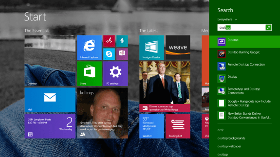 How to Disable the Start Screen in Windows 8 (2)