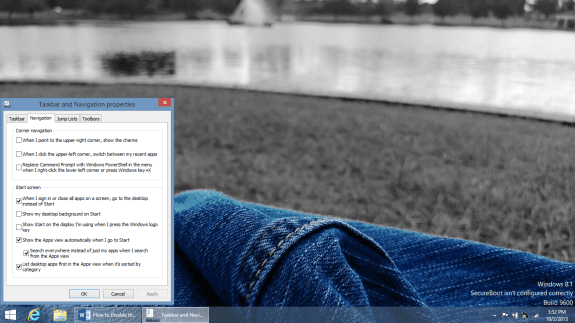 How to Disable the Start Screen in Windows 8 (8)