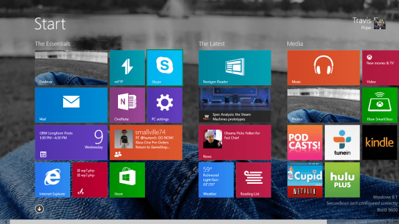 How to Resize Live Tiles in Windows 8 (2)