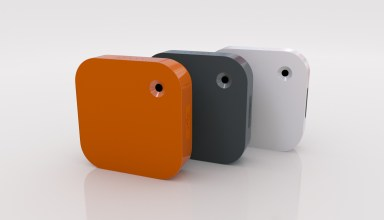 Narrative Clip Camera in three colors