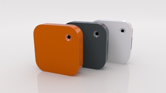 Narrative Clip Camera in three colors