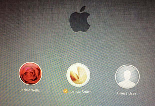 This is one example of how Touch ID could work with OS X.