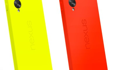 The Nexus 5 Bumper Case comes soon.