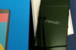 The Nexus 5 unboxing photo below comes from the UK, where an employee of an un-named company posted then removed this photo.