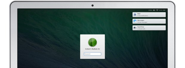 OS X Mavericks handles notifications differently.
