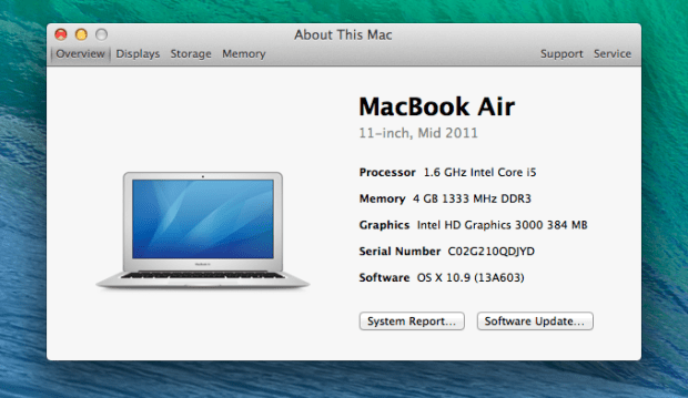 A new OS X Mavericks GM version arrives before release.