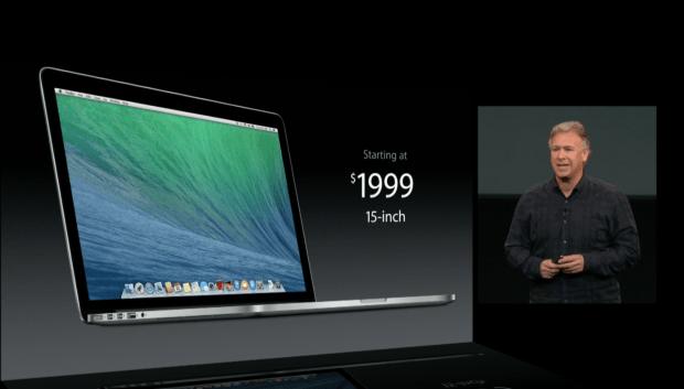 macbook pro $1999