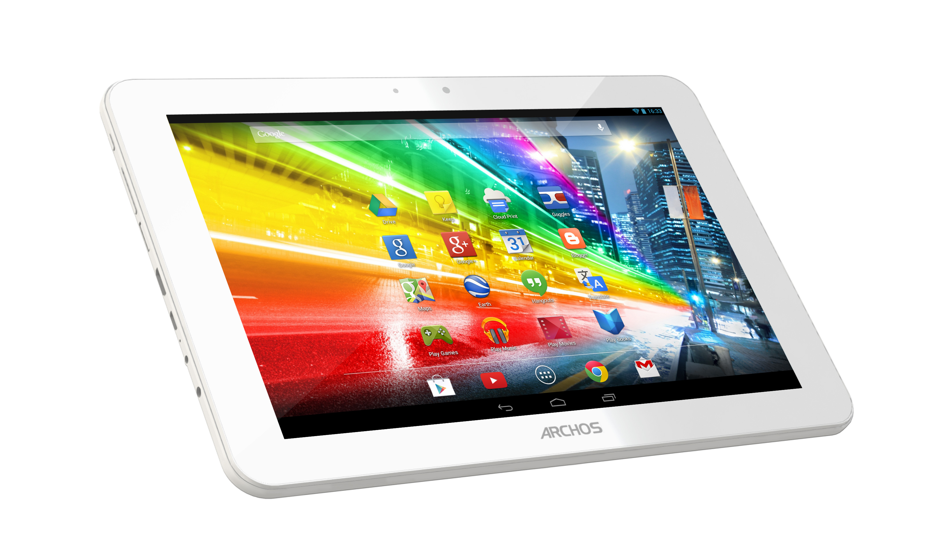 ARCHOS Challenging Premium Android Tablet Makers with 3 ...