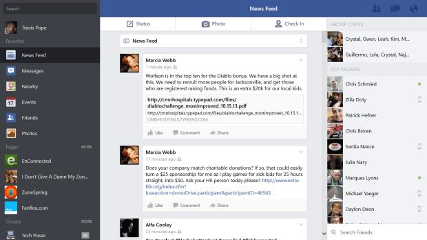 facebook for windows