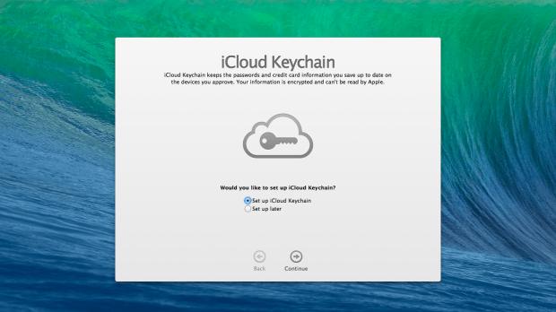 Setup iCloud Keychain on OS X Mavericks.
