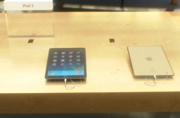 iPad 5 Gold Touch ID in store