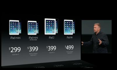Don't expect iPad Air and iPad mini 2 pre-orders.