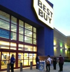 best buy on apple ipad air launch morning