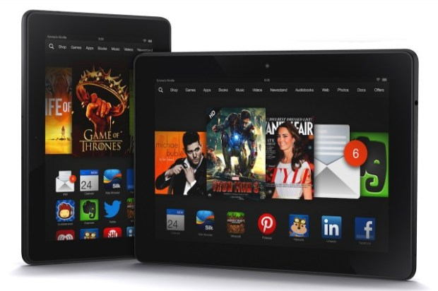 Kindle Fire HDX Tablets