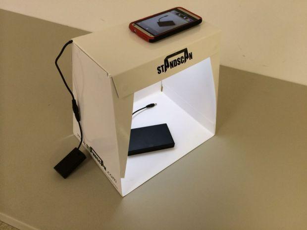 standscan mobile scanning light box