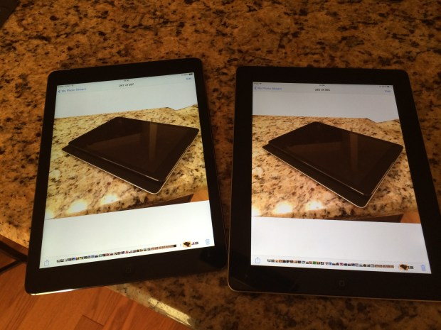 Comparing the iPad Air and the iPad 4
