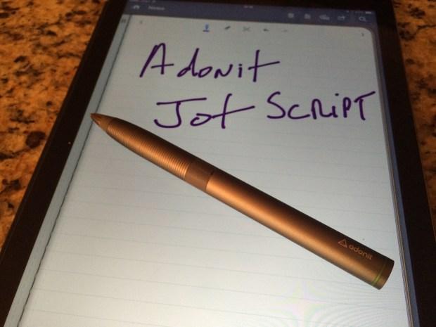 The Adonit Jot Script Stylus