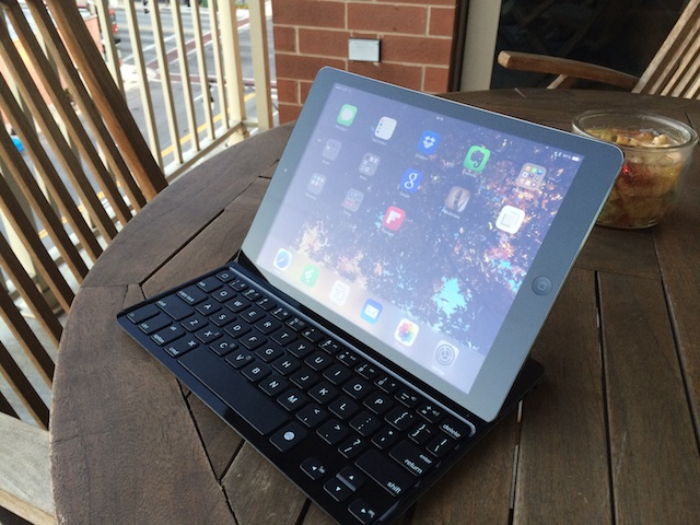 Review: Logitech Ultrathin Keyboard Cover for iPad Air Not