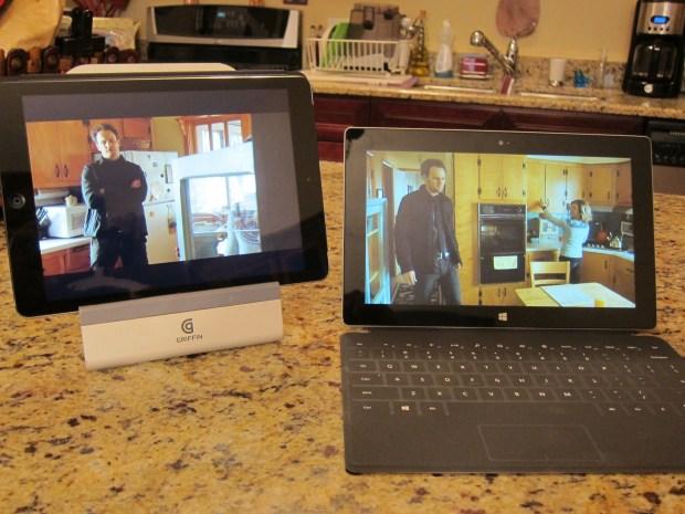 Both Tablets running Netflix