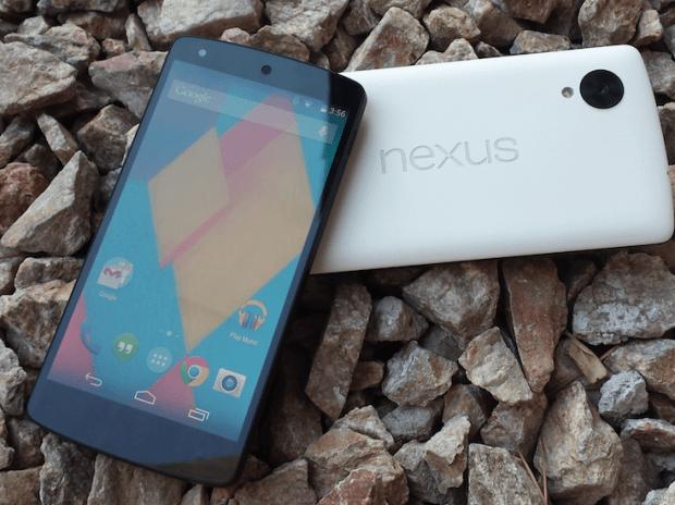 Nexus 5 both