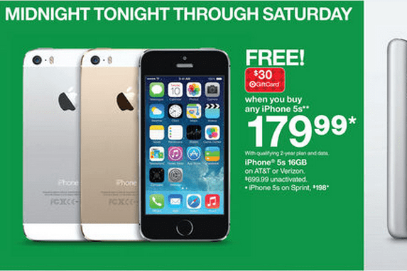 Target\\\\\\\\\\\\\\\\\\\\\\\\\\\\\\\'s iPhone 5s Black Friday Deal