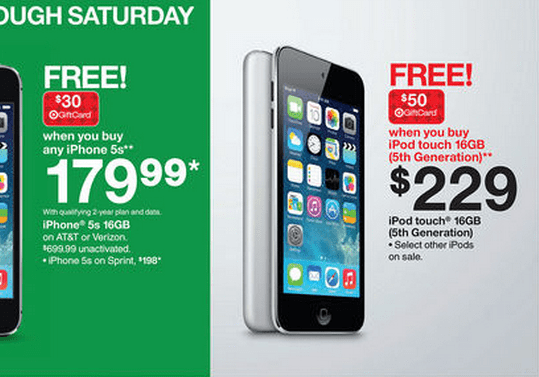 Target\\\\\\\\\\\\\\\\\\\\\\\\\\\\\\\'s iPod touch Black Friday deal