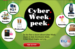 Target Cyber Monday 2013 Deals