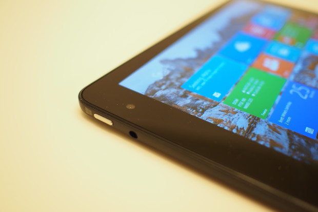 The Windows key has moved from the center bottom of the screen to the top corner on the side. It's an adjustment, but in reality it provides better ergonomics as you won't accidentally hit the key when rotating or holding the tablet.