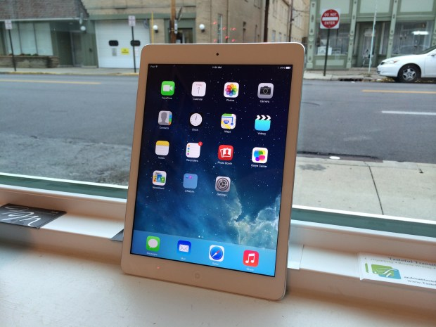 iPad Air Benchmarks Comparison