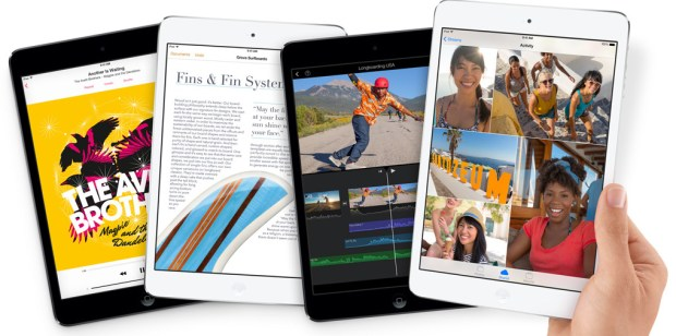 The iPad mini with Retina display might be a better choice than a $300 iPod touch.
