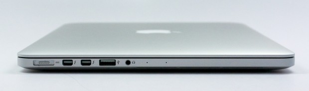 The 13-inch MacBook Pro Retina brings more ports than the MacBook Air.