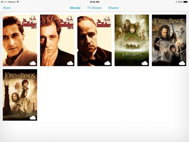 If you buy movies you can re-download them later.