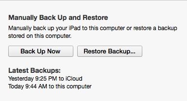 Make a complete backup.