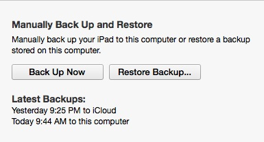 Make a complete backup.