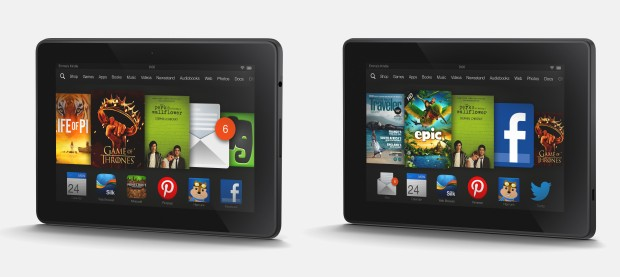 The Kindle Fire HD and Kindle Fire HDX are sold by Amazon.