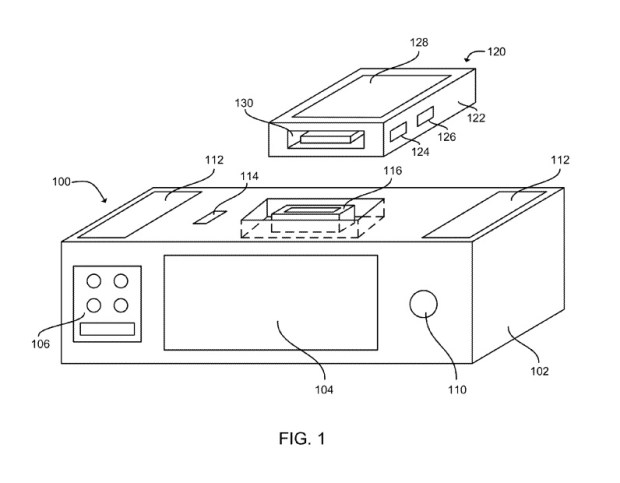 apple siri dock patent
