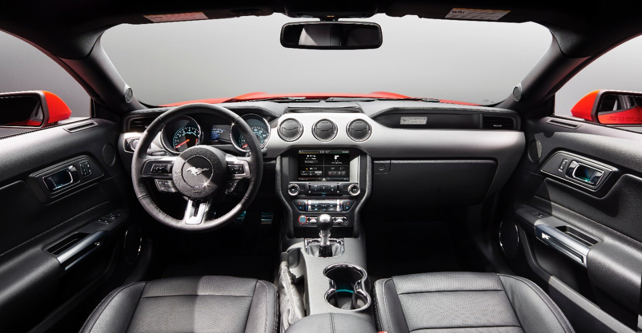 2015 mustang is most technologically advanced mustang boasts ford. Black Bedroom Furniture Sets. Home Design Ideas