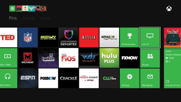 Users can download a ton of applications from the Xbox One Store, not included in that selection is Verizon Fios, which happens to be in this Microsoft PR Photo.