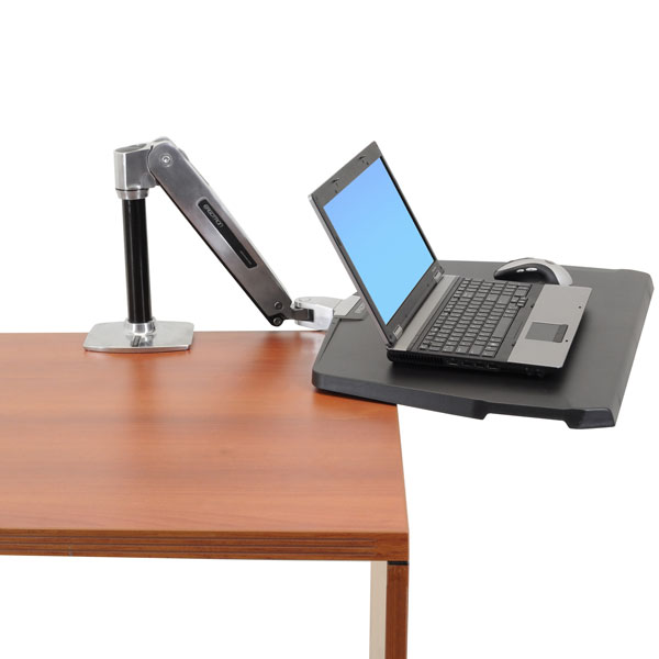 ergotron workfit p sit stand workstation swivel