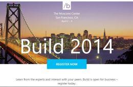 BUild 2014 registrtation