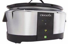 This WiFi Slow Cooker is one of several new WeMo accessories at CES 2014.