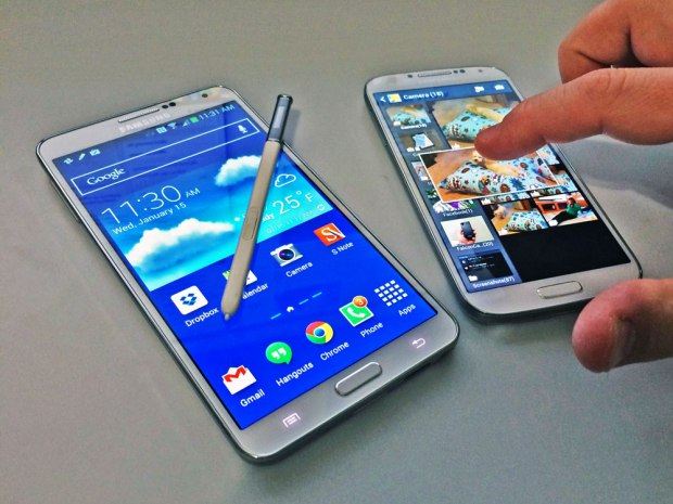 Samsung Galaxy S5 and Galaxy Note 4 rumors point to better gestures and S Pen support.