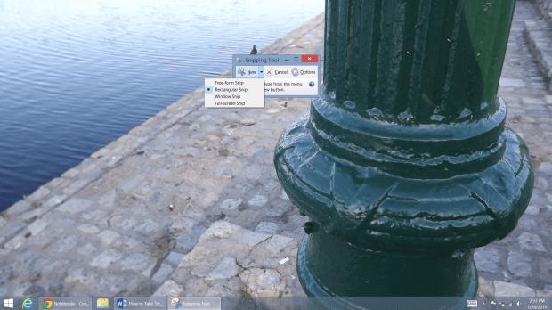 How to Take Screenshots on a Windows 8 PC (5)